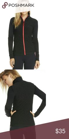 Nwt! Fabletics Nanette Seamless Jacket Nwt! Fabletics Nanette Seamless Jacket   -tribal print design -new with tags -xxs/xs (size 0-4) -Color is perfect peak black/horizon zip Fabletics Jackets & Coats