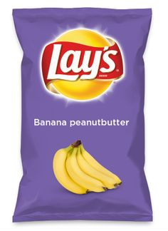 Wouldn't Banana Peanut Butter be yummy as a chip? Lay's Do Us A Flavor is back, and the search is on for the yummiest chip idea. https://www.dousaflavor.com See Rules.