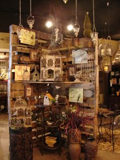 Flea Market Display Ideas | Flea Market display ideas / display made with pallets