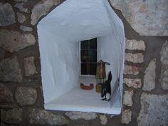 Beggar's window, Ogle Castle