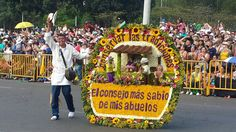 Desfile de silleteros. Feria de las flores