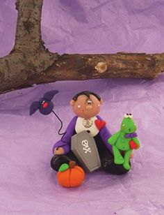 Dracula and Friends Clay Sculptures by Sculpey®