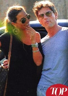 C'è del tenero tra Roberto Farnesi e Roberta Morise? #RobertoFarnesi #RobertaMorise #gossip
