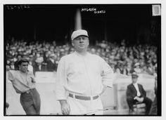 John McGraw, New York NL, at Polo Grounds, NY, 1914, Library of Congress collection