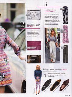 Rose Clutch on Grazia Magazine