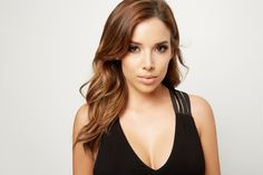 Beauty Blogger Katy DeGroot of LustreLux wearing the Shayna Draped Leather Jacket + Black Strappy Bodysuit #MARCIANO