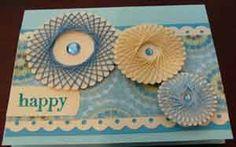 Paper Compulsions: Spirelli design cards CSC08