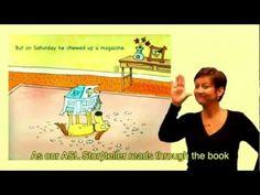 12 Best ASL Storytelling Online Library Stories images | Deaf