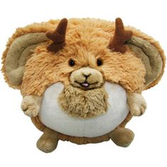 """Mini Squishable jackalope! Yessiree, that there is one mysterious rabbit/antelope hybrid! If you want a Jackalope in its natural habitat, you have to go indoors! Jackalopes prefer the  cuddles, and cable TV that come with domestic life! Bring a Jackalope home where it belongs! Yee haw! This is a LIMITED EDITION design with hand-numbered tags from 1 to 1,000. 7"""" of faux-rustic faux-animal! All new polyester fiber, ages 3 and up only! $19.50 #squishable #plush #limited"""