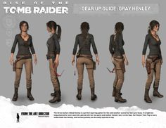 TOMB RAIDER UNIVERS           - FR - Rise of the Tomb Raider Gear Up Guide # 4:...