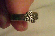 Teen Wolf Inspired Sterling Silver Triskele by WitchcraftsGifts, $25.00