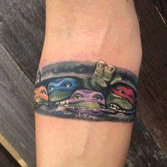 Ninja turtles tattoo