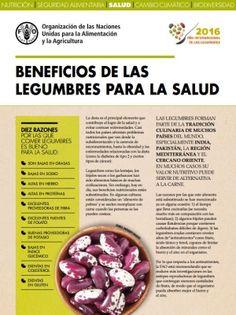 Hoja de Datos: Beneficios para la salud de las legumbres  FAO