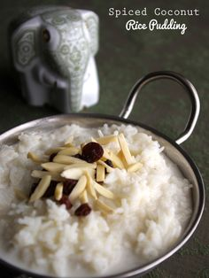Spiced Coconut Rice Pudding @Cost Plus World Market @worldmarket