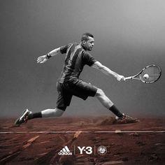 Ana Ivanovic et Jo-Wilfried Tsonga ambassadeurs de la collection adidas  Roland Garros par Y-3 http://fashions-addict.com/Ana-Ivanovic-et-Jo-Wilfried-Tsonga-ambassadeurs-de-la-collection-adidas-Roland-Garros-par-Y-3_408___15639.html …