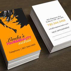 Beauty Salon Business Cards | Salon business