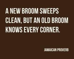 Jamaican Proverb