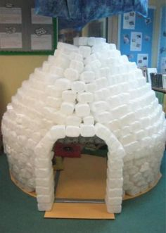 milk bottle igloo 6 - Twinkl blog