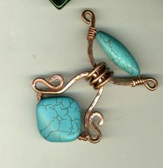 ... Wire Jewelry Ideas on Pinterest | Shawl pin, Wire bracelets and Copper