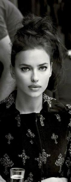 Irina Shayk - definitely the only girl crush I'll ever have , shes so beautiful its not fair !