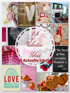 14 Valentine Ideas {I actually like} via Entirely Eventful