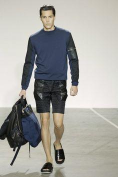 Standard Deviation - Fashion. Design. Culture. Art. Myko.: Tim Coppens Spring / Summer 2013 Menswear Runway