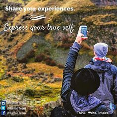 Tell your #story and express your true self. Your #experiences are more powerful than you think. #Write and #inspire! #Plumaa #ThinkWriteInspire #ComingSoon