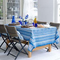 Küchen Küchenideen Küchengeräte Wohnideen Möbel Dekoration Decoration Living Idea Interiors home kitchen - Blaue und weiße Wohnküche