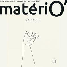 O! la lettre matériO' n°104 | materiO' Ecards, Memes, Movie Posters, E Cards, Film Poster, Meme, Jokes, Film Posters