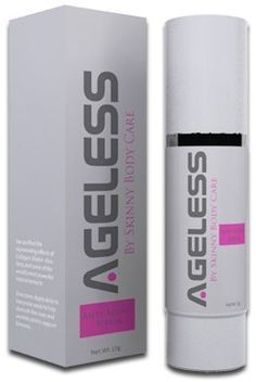 Ageless Anti-Aging serum by Skinny Body Care. $69.95. Glycosaminoglycans, Panthenol & Allantoin. Aloe Vera Gel & Citrus Aurantium Blend. CoQ10. Hydrolyzed Elastin & Soluble Collagen. PLUS 12 Fresh Extracts fron Nature's Finest Fruits and Vegetables. With ingredients like Aloe Vera gel, CoQ10, and some of the world's most powerful natural anti-oxidizing extracts, you can reverse the aging process and revitalize your skin back to its youthful radiance and beauty. These ingredi...