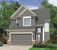 Open Living Area - 6905AM | 2nd Floor Master Suite, CAD Available, Jack & Jill Bath, Narrow Lot, Northwest, PDF, Traditional | Architectural Designs