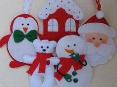 Des patrons gratuits pour faire des décorations de Noël avec de la feutrine! - Bricolages - Des bricolages géniaux à réaliser avec vos enfants - Trucs et Bricolages - Fallait y penser !