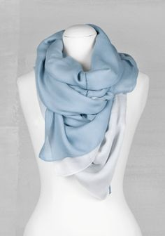 Ladder stitch scarf