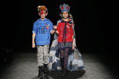 080 Barcelona Fashion otoño invierno 2016-2017: firma Bóboli #modainfantil #fashionkids #kids #childrensfashion #kidsfashion #niños #streetstyle #streetstylekids  #tendencias  #blogmodainfantil