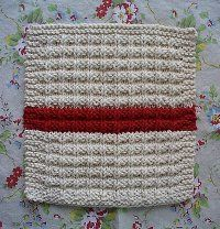 Waffle Knit Dish Cloth Pattern   AllFreeKnitting.com