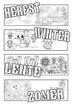 Coloring for adults - kleuren voor volwassenen Coloring For Kids, Adult Coloring Pages, Coloring Books, Creative Teaching, Creative Kids, Poster Drawing, Learn To Draw, Colorful Pictures, Diy For Kids