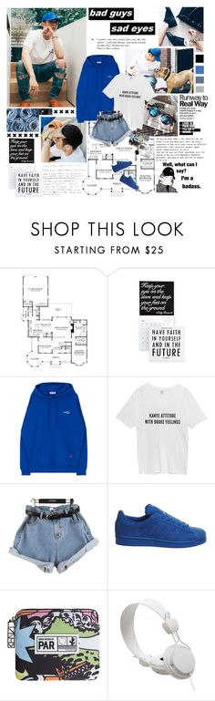 """""""[New Contest] How can i not touch the sky? ... ♪"""" by followmiiin ❤ liked on Polyvore featuring Chandelier, StyleNanda, adidas, Kenzo and WeSC"""