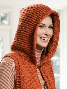 Loom Knit Hooded Scarf Pattern : Hooded scarf, Loom knitting and Loom on Pinterest