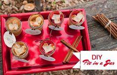 DIY Wedding Crafts : DIY Pie in a Jar