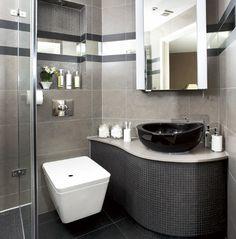Fotos de Baños Modernos con Ducha. El día de ahora te mostrare fotos de baños modernos con ducha. Si estas pensando en reformar tu baño y deseas modernizar ese cuarto tan intima de la casa,