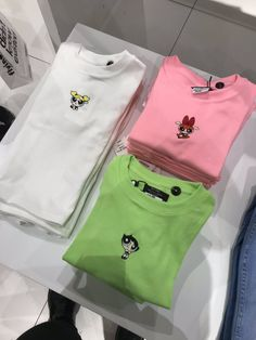 Powerpuff Girl Shirts😍😍😍 is part of Vintage outfits - Mode Outfits, School Outfits, Trendy Outfits, Summer Outfits, Girl Outfits, Fashion Outfits, Fashion Fashion, Fashion Ideas, Vintage Outfits