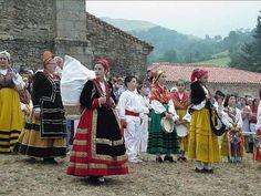 La Virgen de Valvanuz fiesta ancestral de Selaya #Cantabria #Spain #Travel