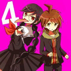 Makoto and Genocide Jill/Jack/Syo