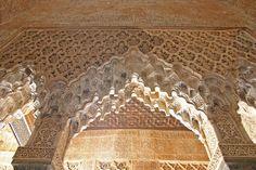 Detalle Paños Sebkas y Mocárabes (2) Alhambra de Granada