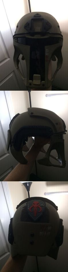 Clothing and Protective Gear 159044: Galactac Airsoft Boba Fett Helmet -> BUY IT NOW ONLY: $250 on eBay!