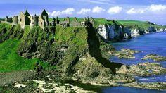 Ruins of Dunluce Castle - Portrush, Northern Ireland
