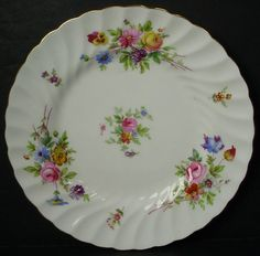 MINTON china MARLOW S309 Globe Stamp BREAD PLATE 6""