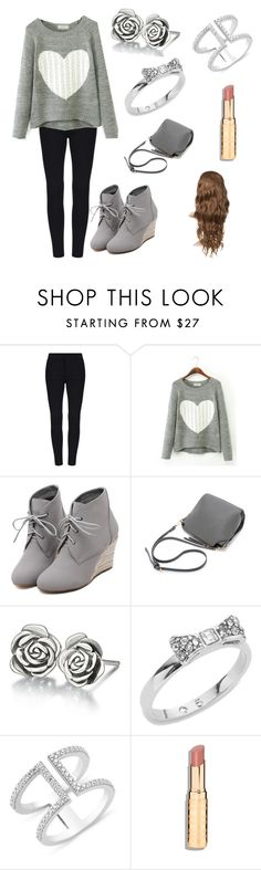 """""""Winter Outfit"""" by pearcemaddie ❤ liked on Polyvore featuring WithChic, Chamilia and Kate Spade"""