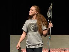 The Greater Atlanta Christian wins 2015 Georgia Theatre Competition. Pictured: Best Actress Rachel Finazzo