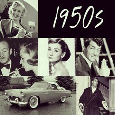 1950's.. I belong there! There's something wrong with the world we are living in now!  I want to go back there too!